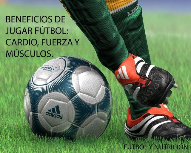 Beneficios de jugar fútbol para la salud